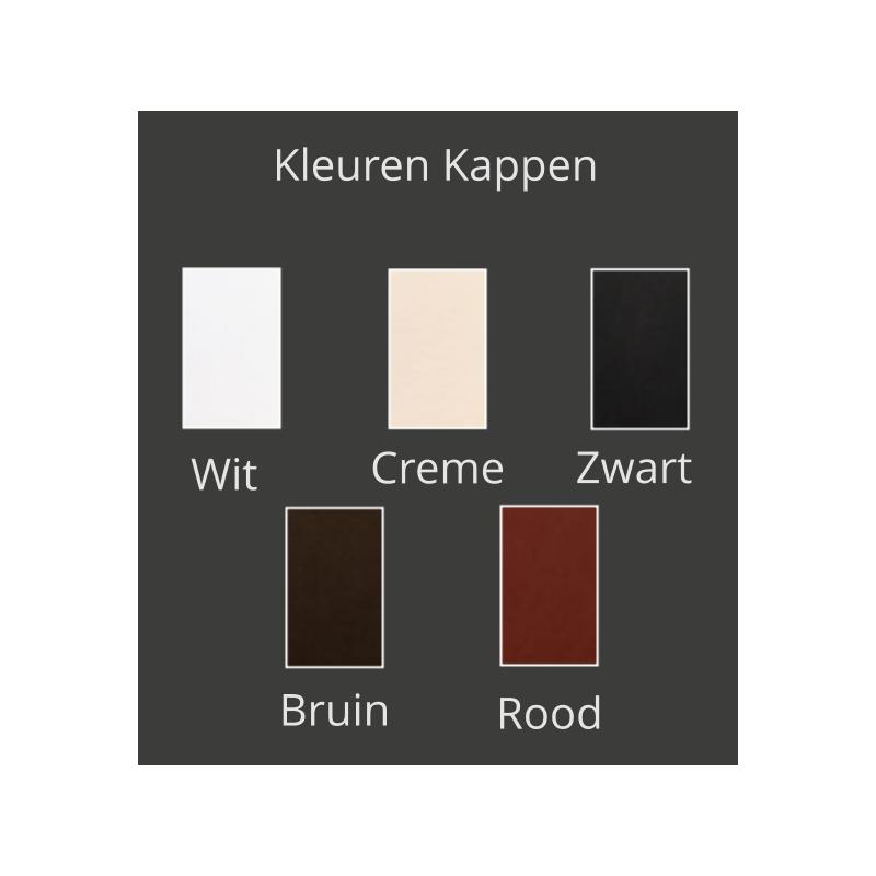 Kleuren kappen - Plafondlamp - Airwave C5 - Ilfari