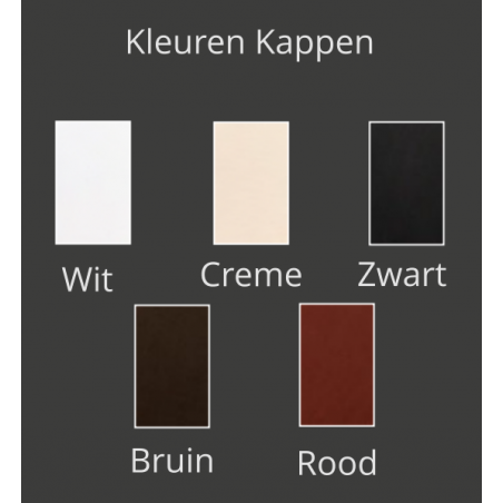 Kleuren kappen - Wandlamp - Arabian Pearls W1 - Ilfari