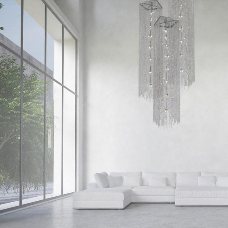led plafondlamp 56 767 072 coba van het merk grossmann. Black Bedroom Furniture Sets. Home Design Ideas