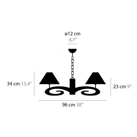 Maten - Hanglampen - Lazy Sunday H6+1 Low - Ilfari
