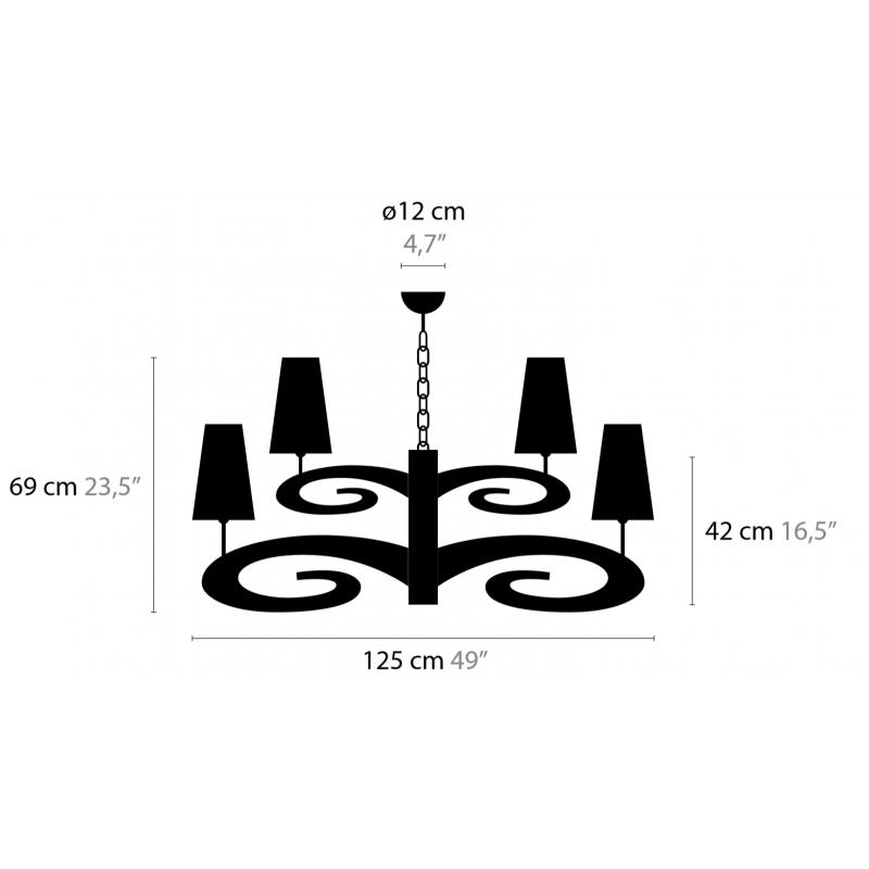 Maten - Hanglampen - Lazy Sunday H12+1 High - Ilfari