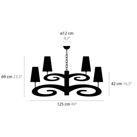 Maten - Hanglampen - Lazy Sunday H12+1 Low - Ilfari