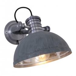 Wandlamp 7717GR Brooklyn Grijs - Steinhauer