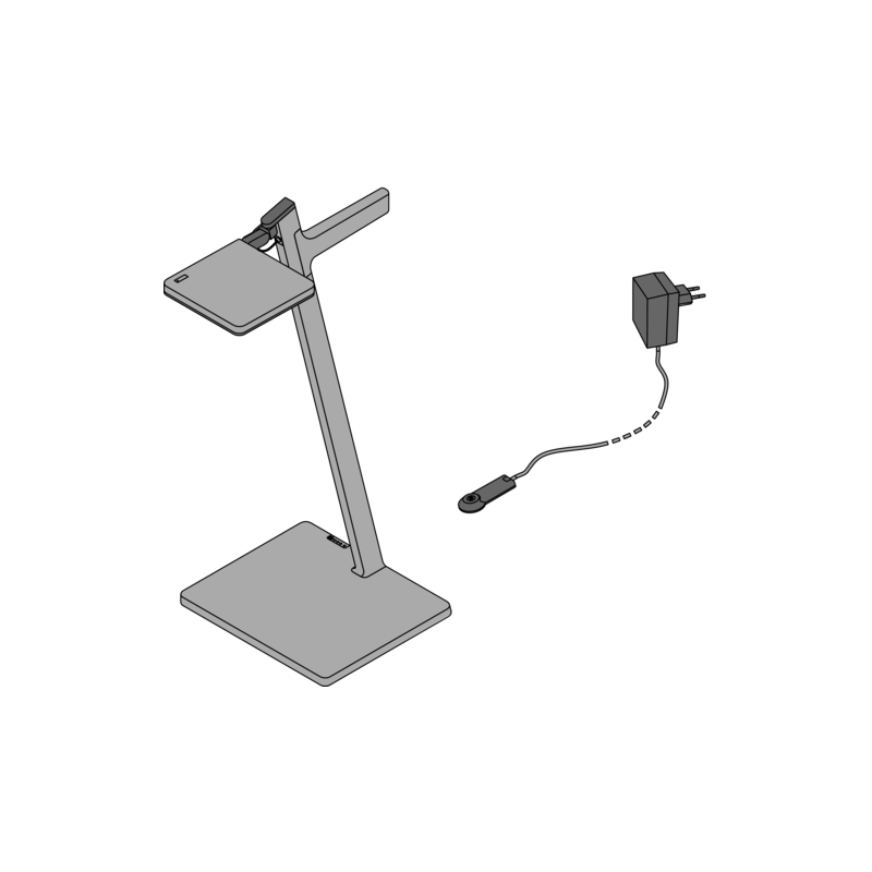 Draadloze LED tafellamp - Roxxane Leggera 52 CL - 5
