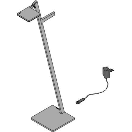 Product - Draadloze LED vloerlamp - Roxxane Leggera 101 CL