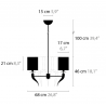 Hanglamp Loving Arms H5 - Ilfari