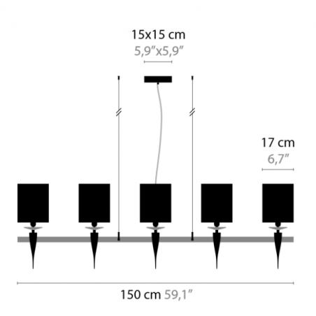 Hanglamp Loving Arms H10 - Ilfar 2