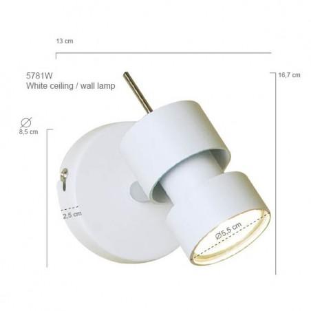 Maten - LED Spots -  7901W Natasja - Steinhauer