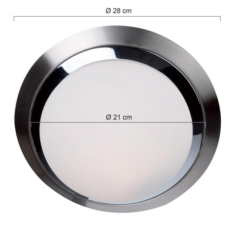 Maten - LED plafondlamp 1366ST Ceiling and wall - Steinhauer