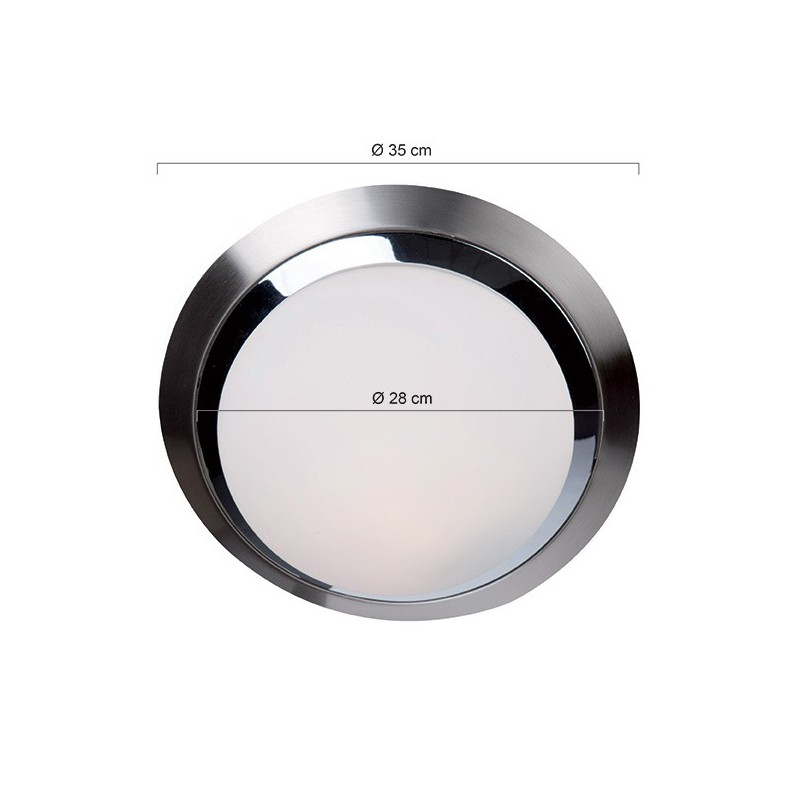 LED plafondlamp 1367ST ceiling and wall - Steinhauer - 2