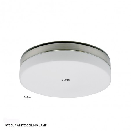 LED plafondlamp 1364ST ceiling and wall - Steinhauer - 2