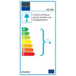 Energie - Hanglamp 5971BR Pimpernel - Steinhauer