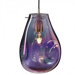 Hanglamp 9539 Soap Big Purple - Bomma