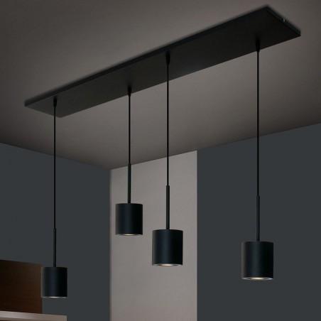 Hanglamp T-633 Zwart - NouStil