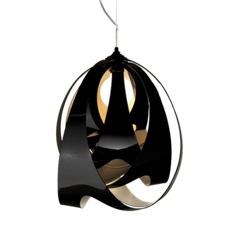 Hanglamp 8172 Goccia Zwart