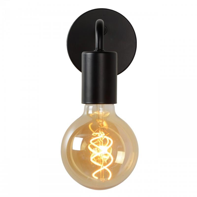 Wandlamp 9044 Scott zwart - Lucide - 2