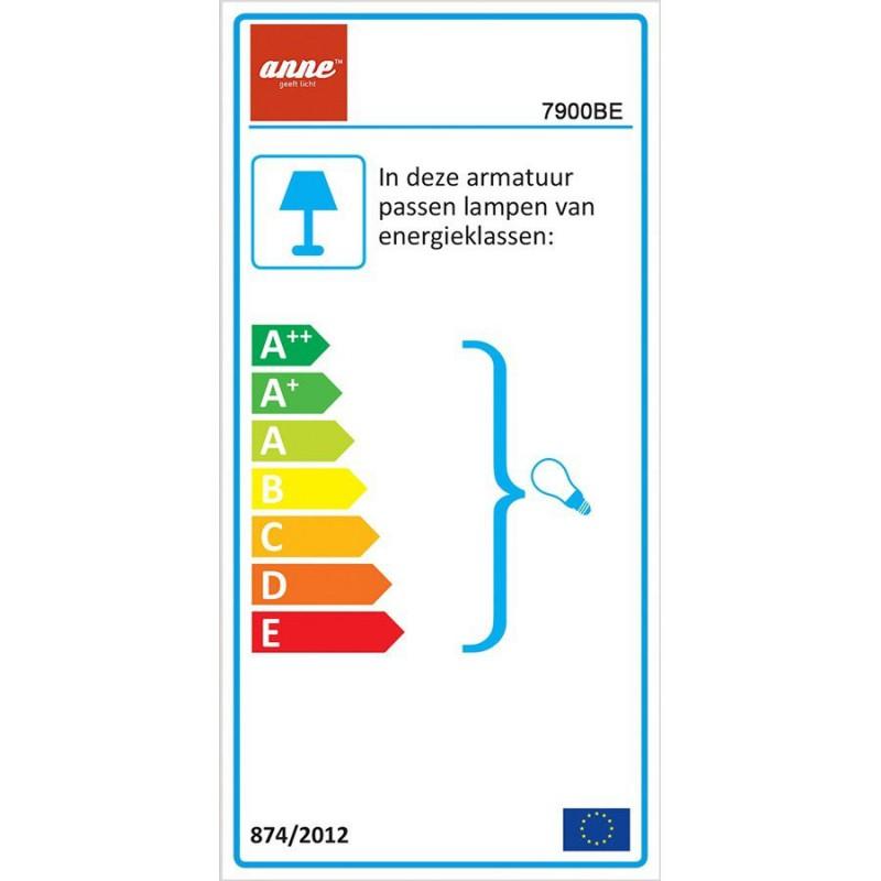 Energie label Wandlamp 7900BE Anne woody - Steinhauer