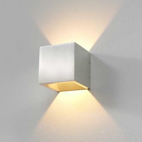 Wandlamp 8955 Cube Alu - Artdelight