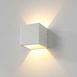LED wandlamp 8956 Cube Wit - Artdelight