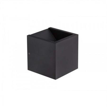 LED wandlamp 8957 cube zwart - Artdelight - 2