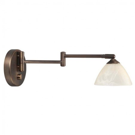 Wandlamp 5784 Palermo Swing Brons - Highlight