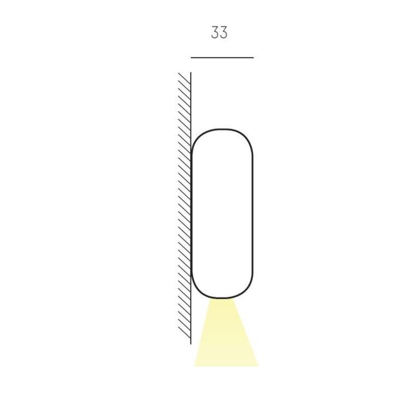 Maat - Wandlampen Emkit - Molto Luce