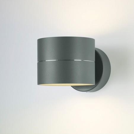 LED wandlamp 8160 Tudor Grijs - Oligo
