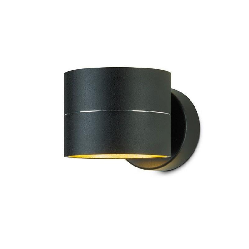 LED wandlamp 10073 zwart goud - Oligo - 2