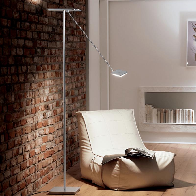 LED vloerlamp 9501 Plano vierkant - Holtkotter