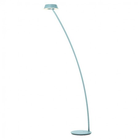 LED vloerlamp G44-883-20-50 Glance Gebogen Aquamarin - Oligo