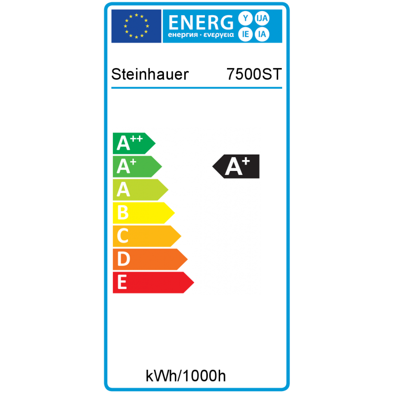 Energie - LED vloerlamp 7500ST Mexlite - Steinhauer