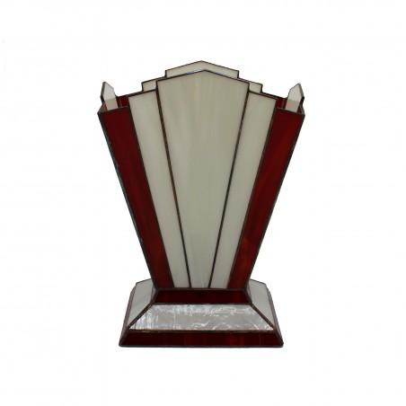 Tafellamp 3276 Zodiac Rood Ivoor - Rose Design - 2