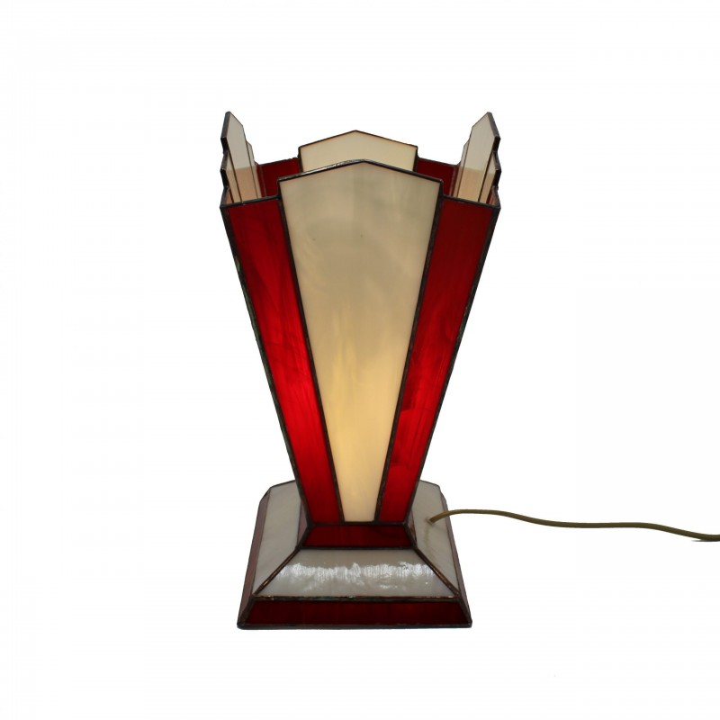 Tafellamp 3276 Zodiac Rood Ivoor - Rose Design - 3