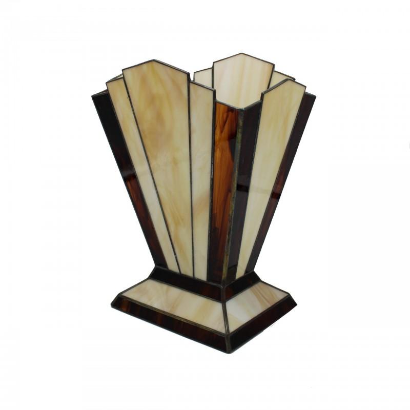 Tafellamp 3276 Zodiac Honing Bruin - Rose Design - 2