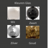Kleuren glas Tears from moon W1 - Ilfari