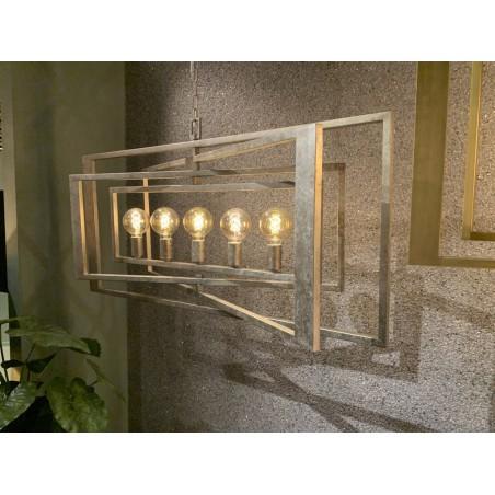 Hanglamp - LB036/5 Avenue Zilver - L&B