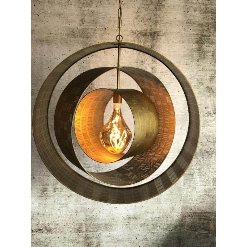 Hanglampen - LB034/1 Binck mat brons - L&B