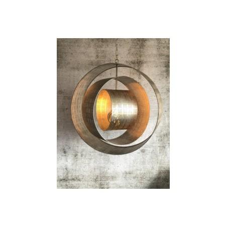 Hanglampen - LB034/1 Binck Ambachtelijk zilver - L&B