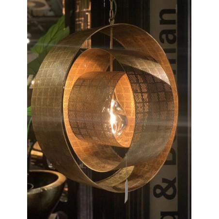 Hanglampen - LB034/1 Binck Ambachtelijk brons - L&B