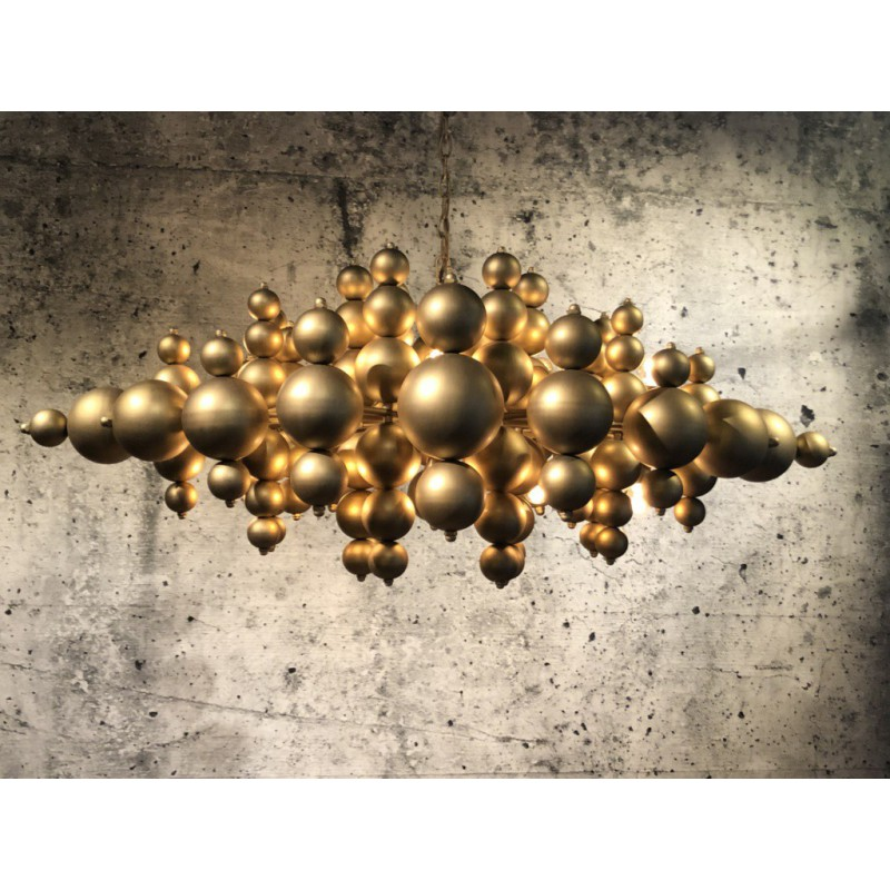 Hanglampen - LB014/16 Blow mat brons - L&B