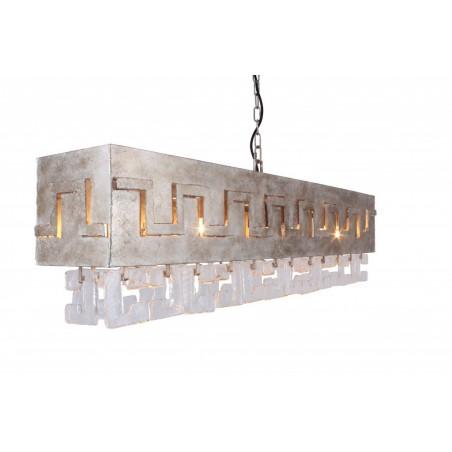 Hanglamp - LB018/8 Casero Ambachtelijk zilver - L&B