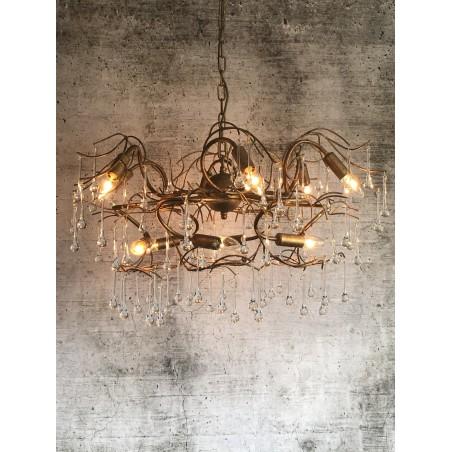 Hanglamp - LB451/12 Como - brons - L&B