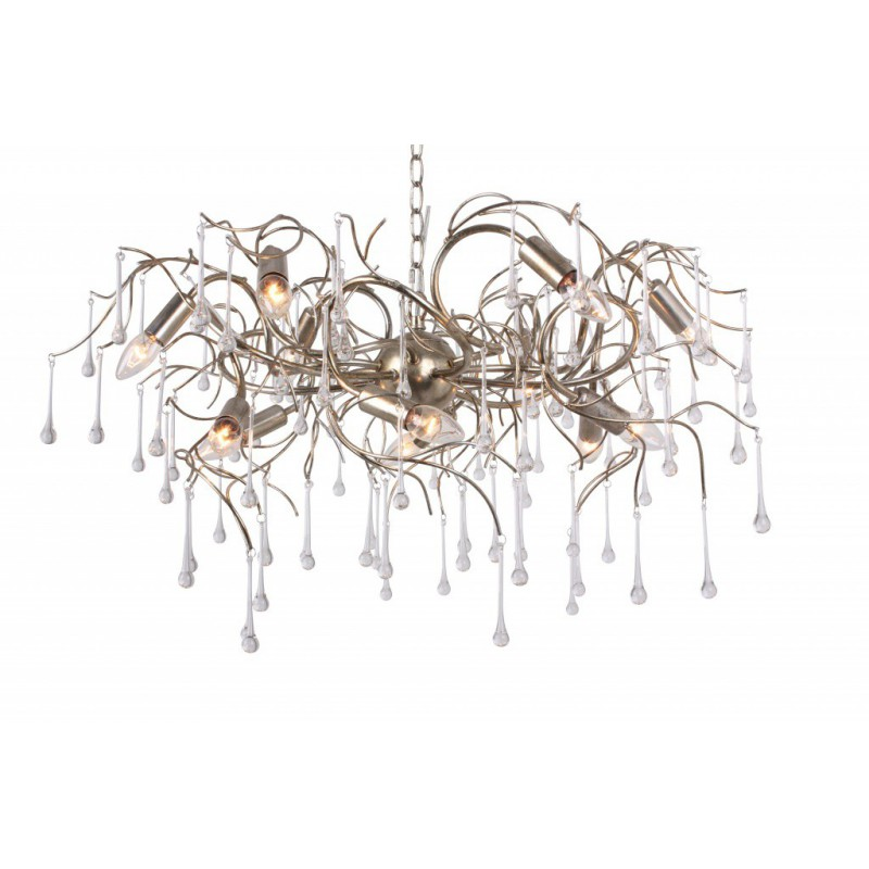 Hanglamp - LB451/12 Como zilver - L&B