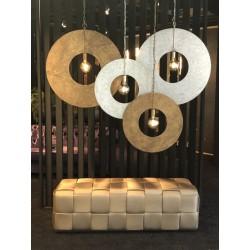 Hanglampen - LB032/1L Corum brons + zilver - L&B