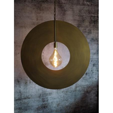 Hanglampen - LB032/1L Corum mat brons - L&B