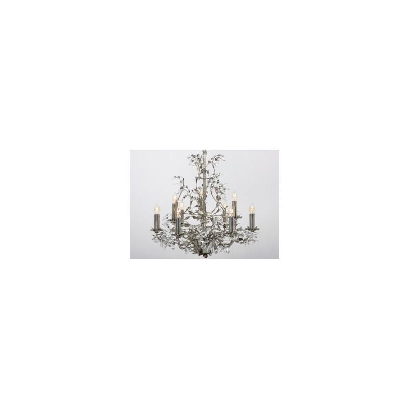 Kroonluchters - LB900/9 Elegance Bladzilver - L&B