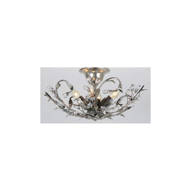 Plafondlamp - LB900/4PL Elegance Bladzilver - L&B