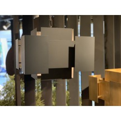 Hanglampen - LB035/6 Lux industrieel dark - L&B