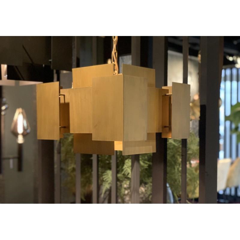 Hanglampen - LB035/6 Lux mat brons - L&B