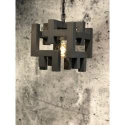 Hanglampen - LB026/1 Magnus industrieel dark - L&B